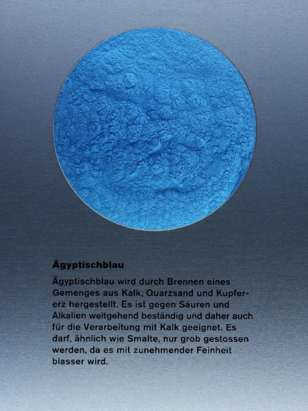 Egyptian Blue Kremer Made And Historic Pigments