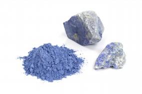 Lapis Lazuli, grayish-blue