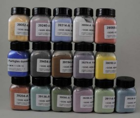 Set: Assortment of Colored Glass Pigments
