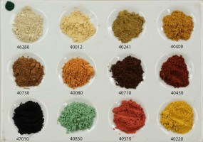 Set: Assortment of Earth Pigments