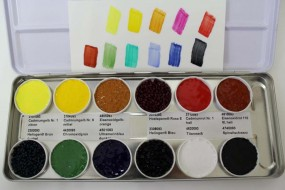 Set: Kremer Color Chips in Paraloid® B 72