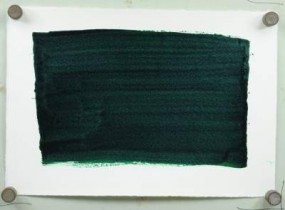 Kremer Shellac Ink Green, yellowish