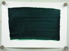 Kremer Shellac Ink Green, yellowish