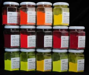 Set: Assortment of Cadmium Pigments - large