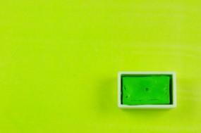 Kremer Watercolor - Pea Green, mixture