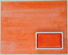 Kremer Watercolor - Orange DPP RA, PO 73