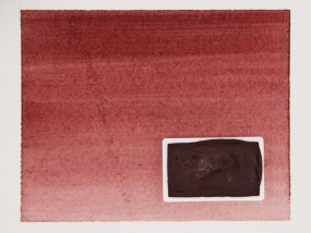Kremer Watercolor - Maroon, PR 179