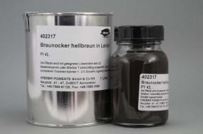 Brown Ochre in Linseed Oil
