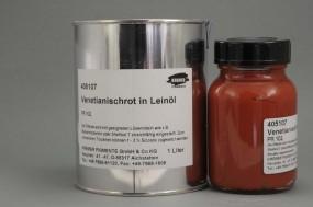 Venetian Red in Linseed Oil