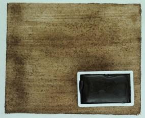 Kremer Watercolor - Burnt Umber, dark brown