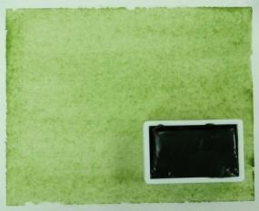 Kremer Watercolor - Bohemian Green Earth, genuine