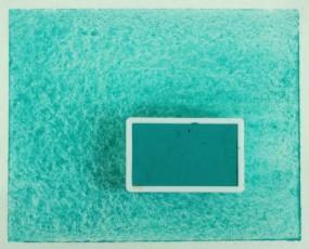 Kremer Watercolor - Cobalt Green bluish A