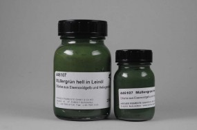 Mueller´s Green Light in Linseed Oil