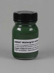 Mueller´s Green Medium in Linseed Oil