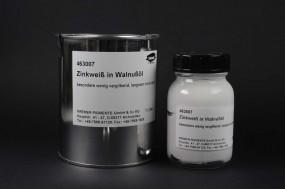 Zinc White in Walnut Oil
