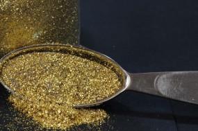 Gold Glitter 0.20 mm x 0.20 mm