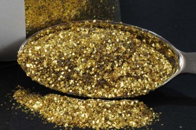 Gold Glitter 0.40 mm x 0.40 mm