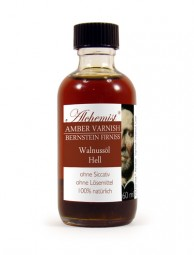 ALCHEMIST™ Amber Varnish Clear in walnut oil