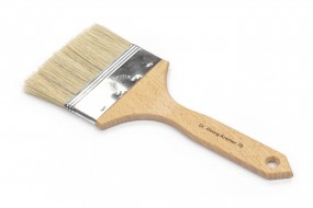Varnish and Gesso Brush, flat, No. 1 inch