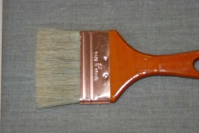 Varnish and Gesso Brush, flat, width: 80 mm