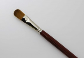 Oil Brush, Master-Class S, cat tongue shaped, No. 16