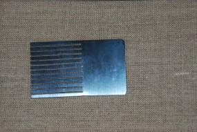 Graining Comb Set, Steel
