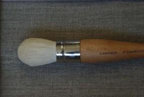 Dusting Brush, round, No. 10