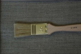 Varnish/Gesso Brush, flat, width 25 mm