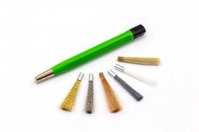 Erasing pen with 6 different erasing tips