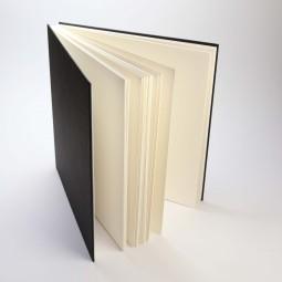 Sketchbook, black, 21 x 21 cm