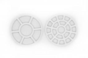Porcelain Mini Palette Etchr, 19 well