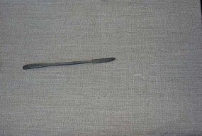Rasp small, pointed / curved