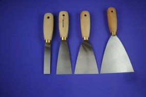 Set: 4 Painter´s Spatulas