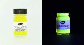 Fluorescent Yellow Varnish