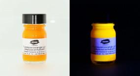 Fluorescent Orange Varnish
