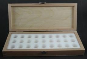 Wooden Box empty, 26.5 x 10.5 x 4 cm