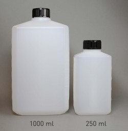 PE-Bottle 250 ml, narrow