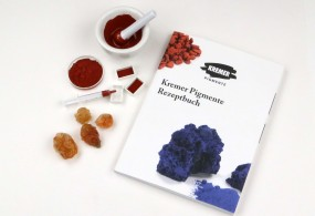 Kremer Pigmente Recipe Book in German