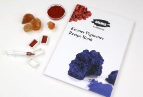 Kremer Pigmente Recipe Book - Creative Book of the Year 2019
