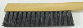 Brush, dark hog hair, hard, 20 mm