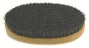 Hand Brush, horse hair, soft, dark, 20 mm