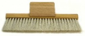 Duster with grip, 15 cm long, 2 rows