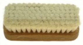 Hand brush rectangular, 15 mm
