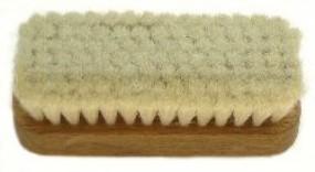 Hand brush rectangular, 15 mm