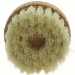 Round brush, bristles