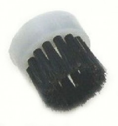 Round brush, black bristle