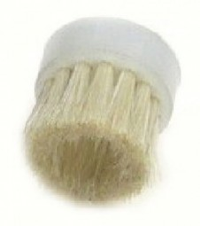 Round brush, white horse hair