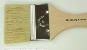 Varnish and Gesso Brush, flat, No. 4 inch