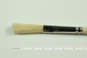 Fresco Brush, oval, No. 12