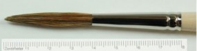 Script Liner, pointed tip, Pale Ox Hair, No. 16